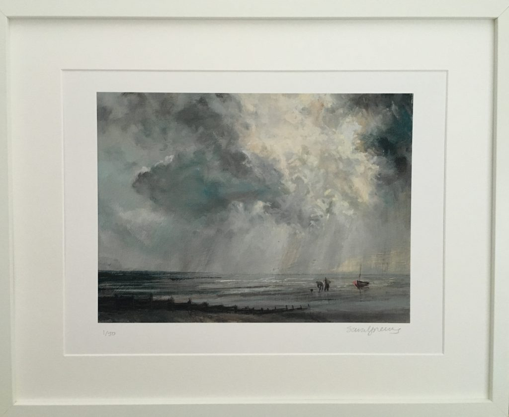 1. Worm Diggers, whitstable (print)